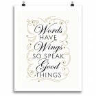 Words Have Wings Print